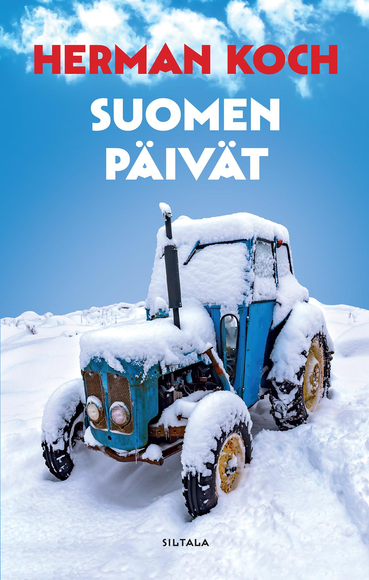 Suomen päivät -romaanin kansikuva