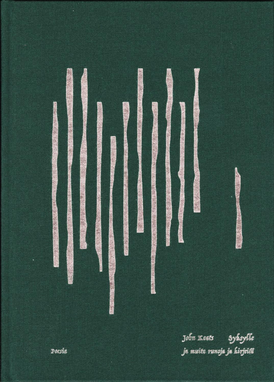 Syksylle ja muita runoja ja kirjeitä, teoksen kansi