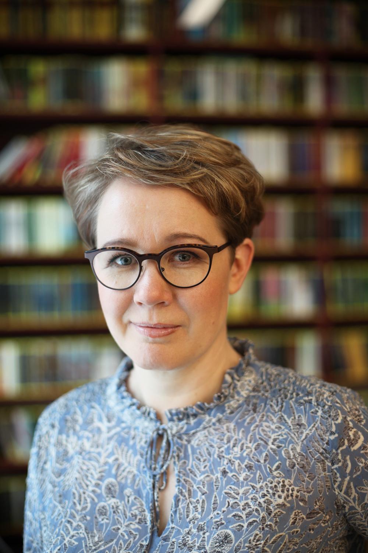Sanna Nyqvist (kuvaaja: Markko Taina / Tammi)